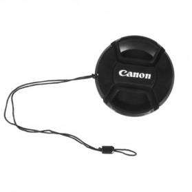 Cover Tutup Lensa Kamera Canon 82mm - Black - 6