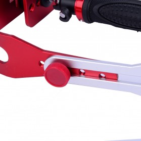TaffStudio Handheld Stabilizer Kamera DSLR GoPro Xiaomi Yi - W01 - Red - 8