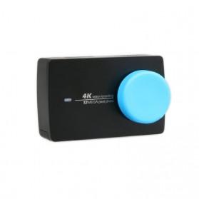 Silicone Lens Cap Cover for Xiaomi Yi 2 4K / Xiaomi Yi Lite - Black - 2