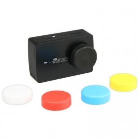Silicone Lens Cap Cover for Xiaomi Yi 2 4K / Xiaomi Yi Lite - Black - 4