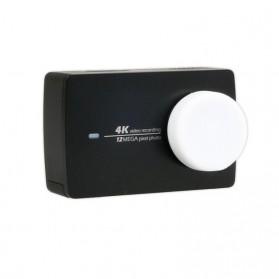 Silicone Lens Cap Cover for Xiaomi Yi 2 4K / Xiaomi Yi Lite - White