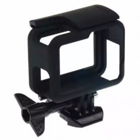 Plastic Protective Side Frame Case Bumper for GoPro Hero 5/6/7 - XTGP341B - Black - 2