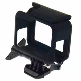 Plastic Protective Side Frame Case Bumper for GoPro Hero 5/6/7 - XTGP341B - Black - 3
