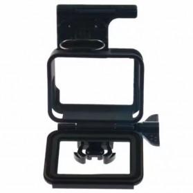 Plastic Protective Side Frame Case Bumper for GoPro Hero 5/6/7 - XTGP341B - Black - 4