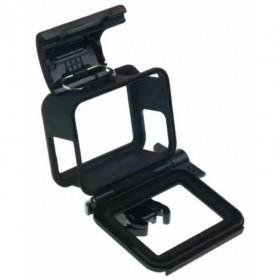 Plastic Protective Side Frame Case Bumper for GoPro Hero 5/6/7 - XTGP341B - Black - 5
