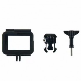 Plastic Protective Side Frame Case Bumper for GoPro Hero 5/6/7 - XTGP341B - Black - 6