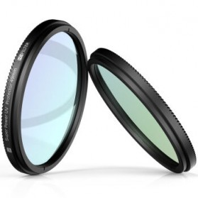 UV Filter Lens 49mm for Xiaomi M1 Mirrorless Camera - Black