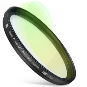 UV Filter Lens 49mm for Xiaomi M1 Mirrorless Camera - Black - 2