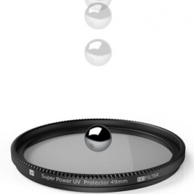 UV Filter Lens 49mm for Xiaomi M1 Mirrorless Camera - Black - 3