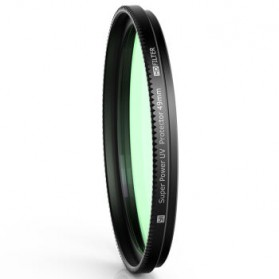UV Filter Lens 49mm for Xiaomi M1 Mirrorless Camera - Black - 4