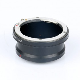 Lens Adapter Ring for Nikon F AI AF Lenses to Micro 4/3 - Black
