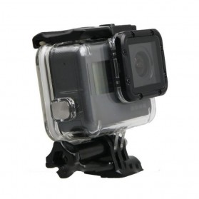 Underwater Touchscreen Waterproof Case 45m for GoPro Hero 5 - Black