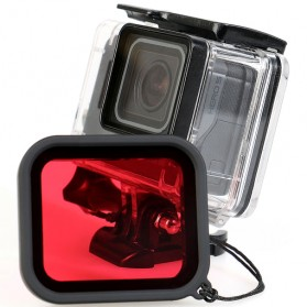 Red Filter Lens Camera for Gopro Hero 5/6/7 - Red