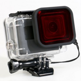 Red Filter Lens Camera for Gopro Hero 5/6/7 - Red - 2