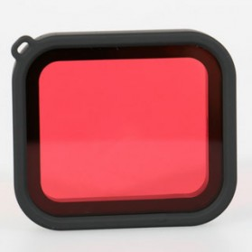 Red Filter Lens Camera for Gopro Hero 5/6/7 - Red - 3
