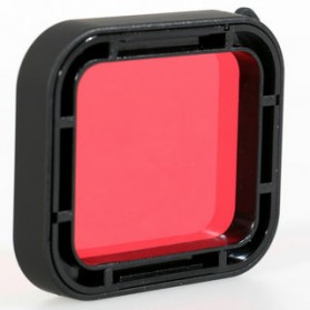 Red Filter Lens Camera for Gopro Hero 5/6/7 - Red - 4
