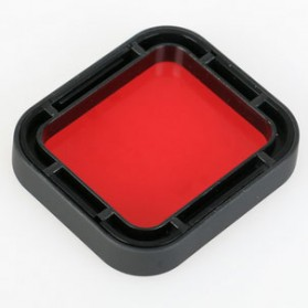 Red Filter Lens Camera for Gopro Hero 5/6/7 - Red - 5