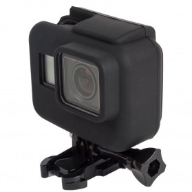 Soft Silicone Case Cover for GoPro Hero 5/6/7 - Black