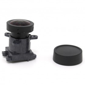 KIMILILY Lensa Replacement 1600W 170 Degree Wide Angle for Xiaomi Yi - 161201-YI - Black - 2