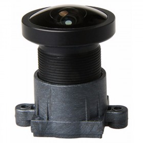 Lensa Replacement 1600W 160 Degree Wide Angle for SJCAM - Black - 2