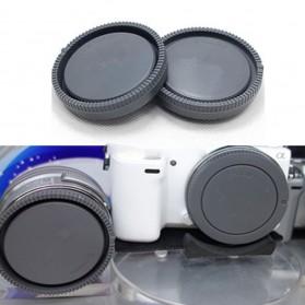 Lens Cap Sony ILCE-A7 A7M2 A7S A7R a5000 a6000 - NEX - Black