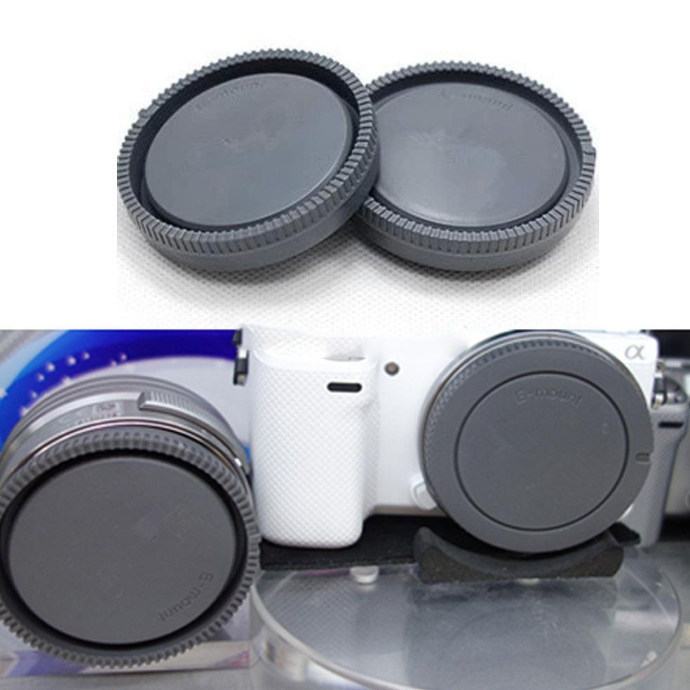 Front Cover Rear Lens Cap For Nikon With Logo Black Tutup Body Lensa Camera Dslr Sony Ilce A7 A7m2 A7s A7r A5000 A6000