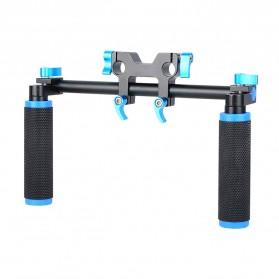 Hand Grip untuk Rig Stabilizer Kamera - Black - 2