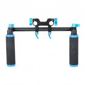 Hand Grip untuk Rig Stabilizer Kamera - Black - 3