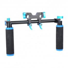 Hand Grip untuk Rig Stabilizer Kamera - Black - 4
