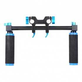 Hand Grip untuk Rig Stabilizer Kamera - Black - 5