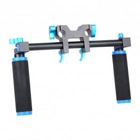 Hand Grip untuk Rig Stabilizer Kamera - Black - 6