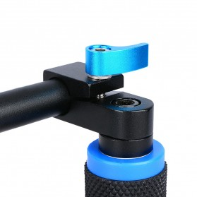Hand Grip untuk Rig Stabilizer Kamera - Black - 8