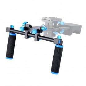 Hand Grip untuk Rig Stabilizer Kamera - Black - 13