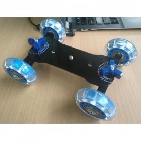 Dolly Slider Kamera DSLR - Black/Blue - 3