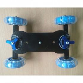 Dolly Slider Kamera DSLR - Black/Blue - 4