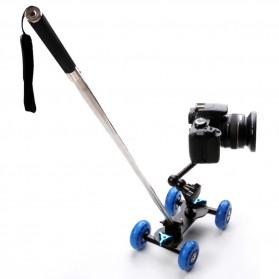 Dolly Slider Kamera DSLR - Black/Blue - 6