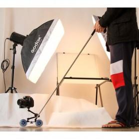 Dolly Slider Kamera DSLR - Black/Blue - 7
