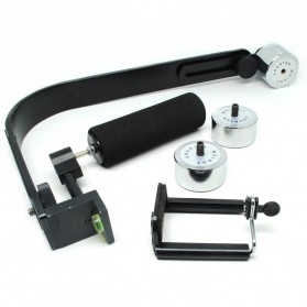Stabilizer Kamera for GoPro / DSLR / Smartphone - Black - 2