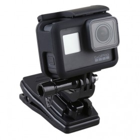 Hard Case with Rotary Clip for GoPro Hero 5/6/7 - Black - 3