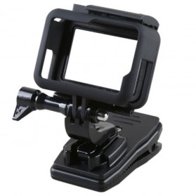 Hard Case with Rotary Clip for GoPro Hero 5/6/7 - Black - 5