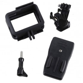 Hard Case with Rotary Clip for GoPro Hero 5/6/7 - Black - 6