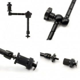 Andoer Articulating Magic Arm for DLSR LCD Flash - S-069 - Black - 6