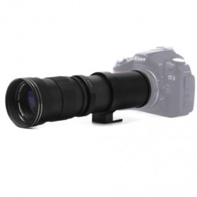 Lensa Kamera Telephoto Manual 420-800mm f/8.3-16 T-Mount - Black