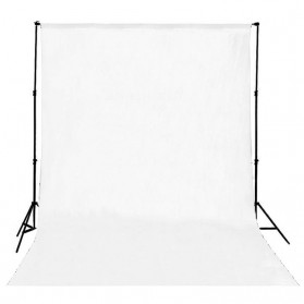 Backdrop Studio Fotografi 200 x 300 cm - S-1104 - White