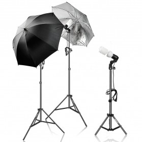 Portrait Foto Studio Day Light Lighting Kit Youtube Vlog - K9 - Black - 3