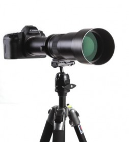Kelda Lensa Kamera Telephoto Manual 650-1300mm F/8-16 T-mount - Black - 5
