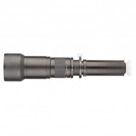 Kelda Lensa Kamera Telephoto Manual 650-1300mm F/8-16 T-mount - Black - 13