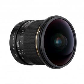 LIGHTDOW Lensa Kamera Fish Eye Fixed Focus 8mm f/3.5 for Canon - Black - 5