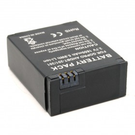 Battery Replacement 1600mAh for GoPro HD Hero 3 - AHDBT-201/301 - Black - 3