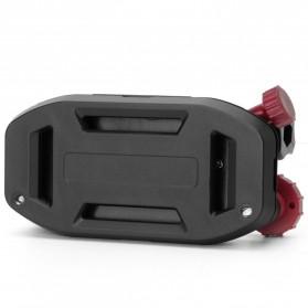 Quick Clip Backpack Mount for Gopro /  Xiaomi Yi / Xiaomi Yi 2 4K - GP298P - Black/Blue - 4
